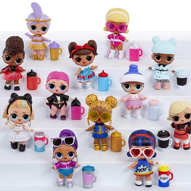 Poupées De Collection Confetti Pop-Series 3 LOL Doll Surprise 4,0 Pouces L.O.L