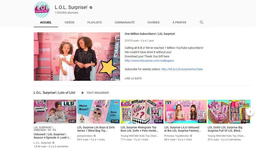 Chaine youtube MGEA Entertainment 1024x612 - L.O.L. Surprise déballe une stratégie OTT