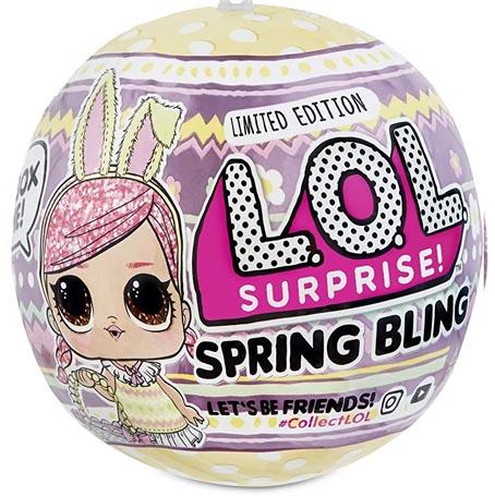 poupee lol fr lol surprise serie Spring Bling - Guide de collection Poupee LOL Surprise