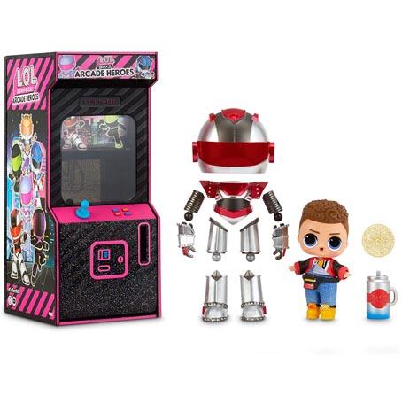 poupee lol fr lol surprise serie boys arcade heroes - Guide de collection Poupee LOL Surprise