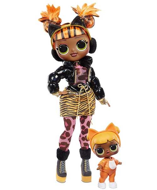 OMG Winter Chill Baby Cat Poupee LOL - OMG Winter Chill - la série 2020 poupée LOL qui réchauffe votre hiver