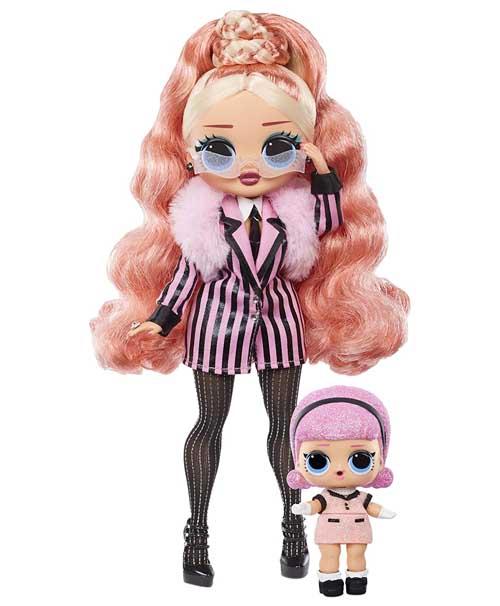 OMG Winter Chill Big Wig Poupee LOL - OMG Winter Chill - la série 2020 poupée LOL qui réchauffe votre hiver