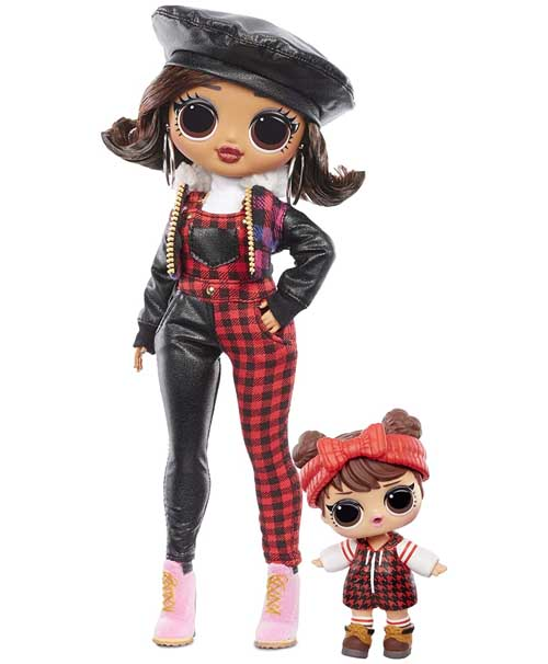 OMG Winter Chill Camp Cutie Poupee LOL - OMG Winter Chill - la série 2020 poupée LOL qui réchauffe votre hiver