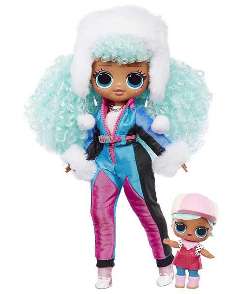 OMG Winter Chill ICY Gurl Poupee LOL - OMG Winter Chill - la série 2020 poupée LOL qui réchauffe votre hiver