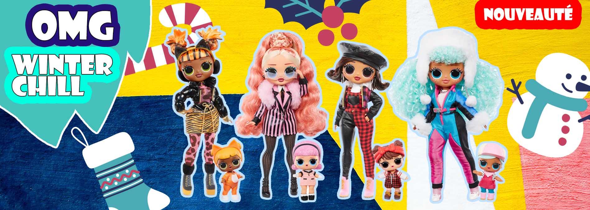 Slide 1 Winter Chill serie poupee lol - OMG Winter Chill - la série 2020 poupée LOL qui réchauffe votre hiver